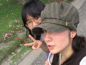 Me (Hat) and Nicole