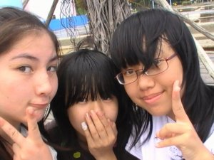 Me, Jenny and Nicole!